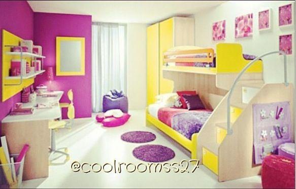 Bright neon room