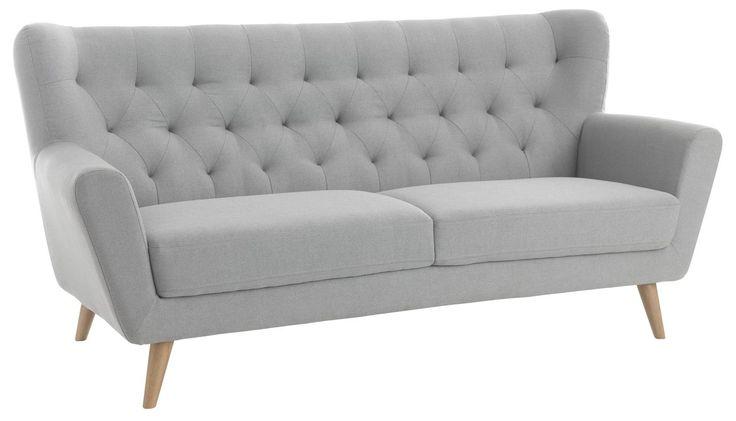 JUNGET триместен диван, светлосив | JYSK