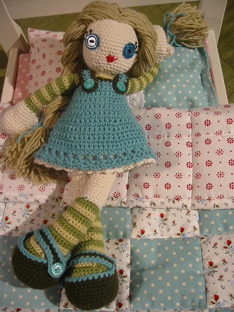 173 best Crochet Dolls images on Pinterest | Juguetes de ganchillo ...