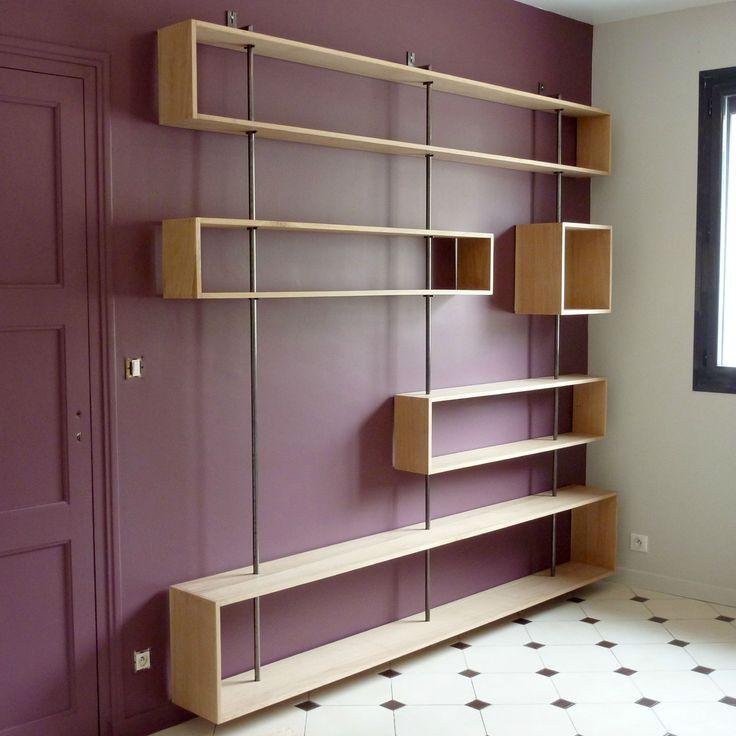 Pour ranger des livres ou exposer des cadres ou de beaux objets