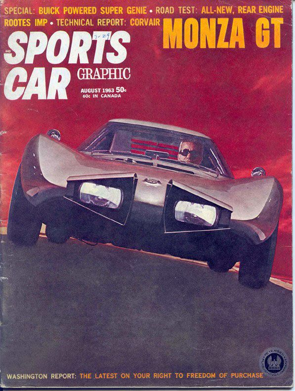 Chevrolet Corvair Monza GT, 1962