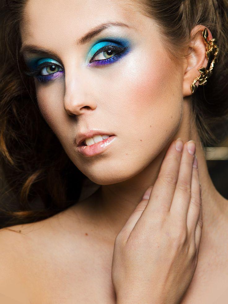 Makijaż wykonany przez Marzenę Tarasiewicz, eksperta z Makeupowni http://pracowniawizerunku.olsztyn.pl/makeupownia/