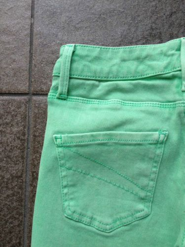 Ladies Miss Shop Green Skinny Jeans - Size 6 - Now Selling! Click through to go to eBay Auction!
