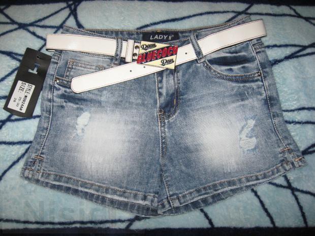Короткие рваные шорты Lady N для девушек Днепр