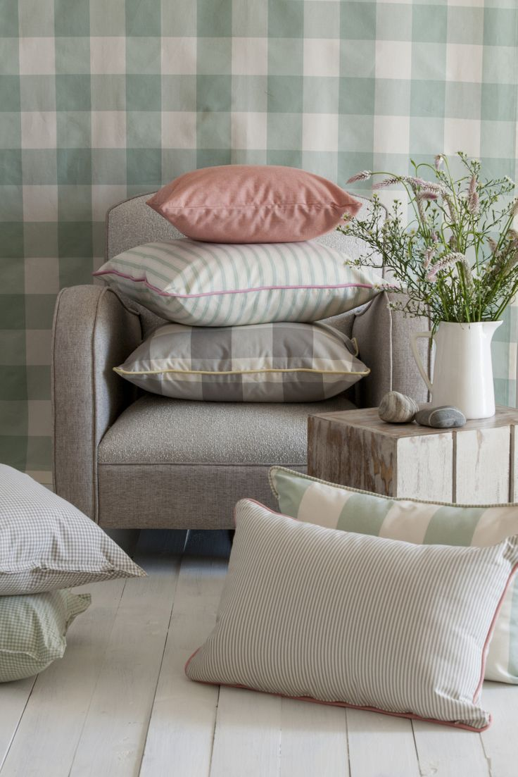 Check and Stripe Fabric Collection From Svenmill
