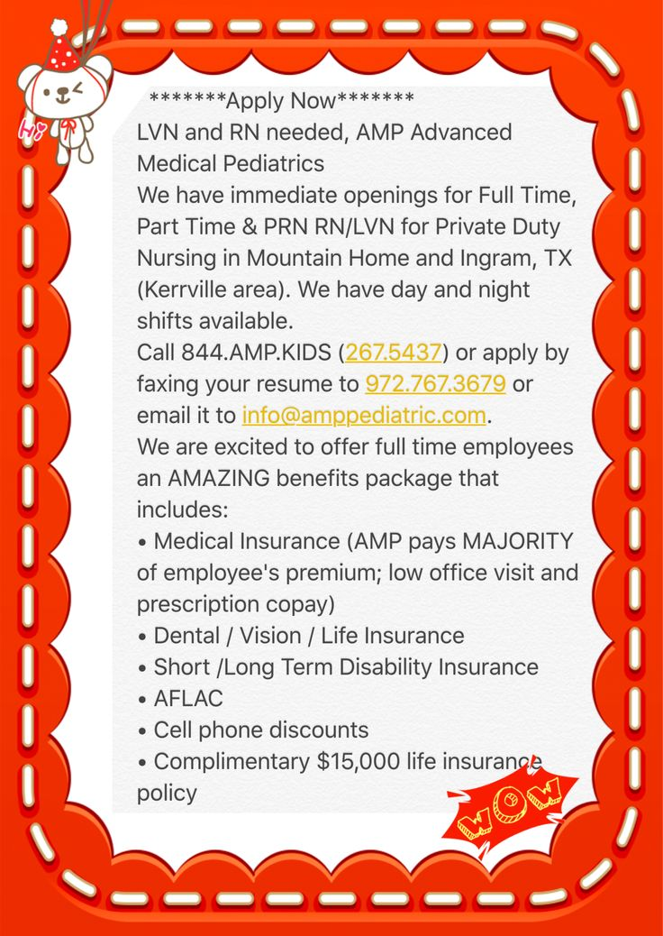 Apply Now******* LVN and RN needed, AMP Advanced Medical