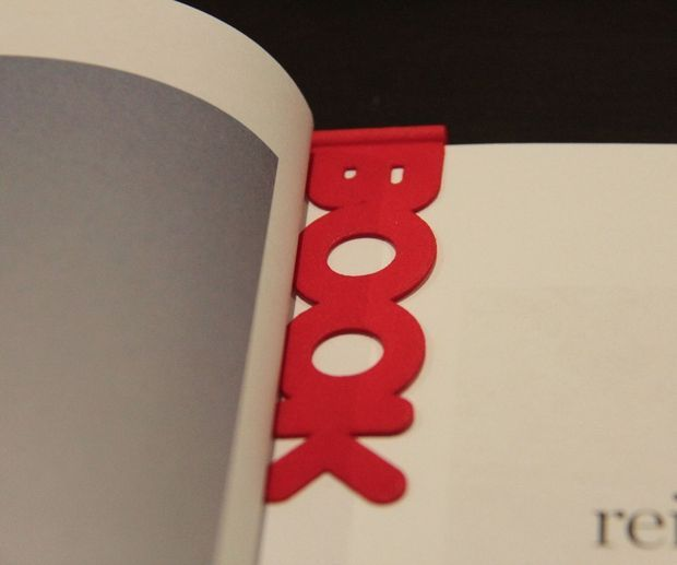 3D printed bookmark w/ downloadable printing instructions