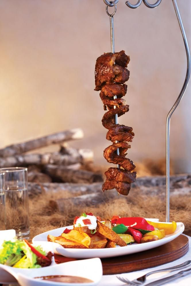 Portuguese beef espetada