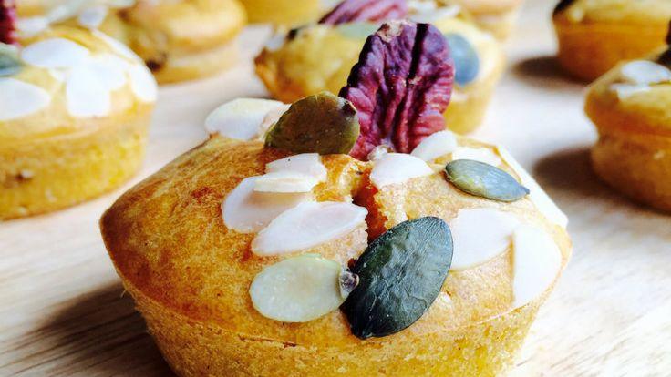 Een heerlijk recept met zoete aardappel! Vandaag maken we zoete aardappel muffins!