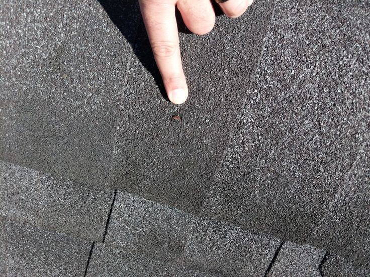 Nail Pops On Shingles Can Cause Leaking In 2020 Roofing Contractors Masonry Work Commercial Roofing