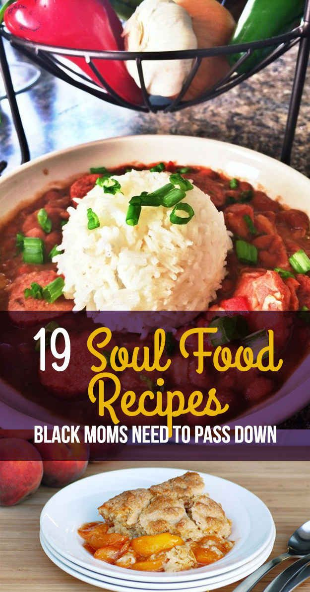 19 Soul Food Recipes That Are Almost As Good As Your Mom's http://healthyrecipecollections.blogspot.com/