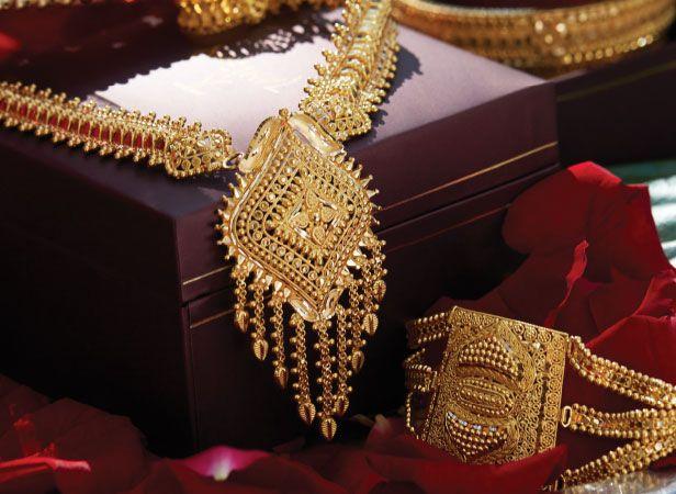 Tanishq Bengali Bride Wedding Jewellery Collection - Long Chain(1)