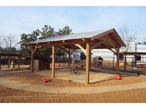 Backyard Picnic Shelter Plans - WoodWorking Projects & Plans