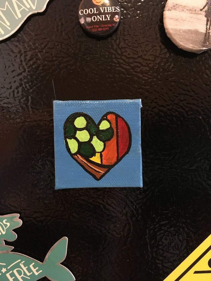 """Forest Love"" Magnet"