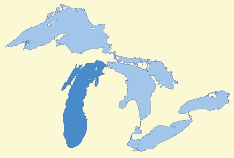 Lake Michigan - Wikipedia, the free encyclopedia