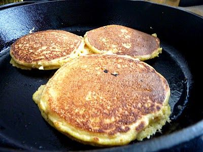 Alton Brown Johnny Cakes