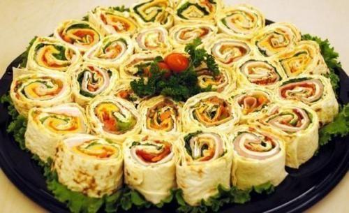 10 рецептов рулетиков из лаваша. | Шедевры кулинарии