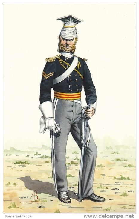 Corporal 17th Light Dragoons Lancers Crimea 1854