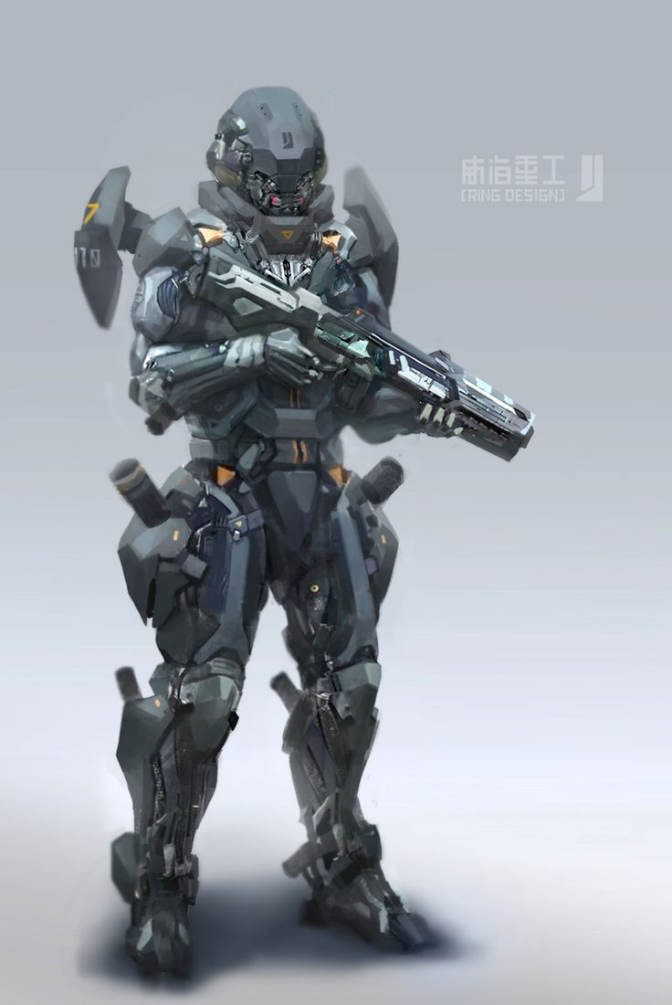 17 Best images about Armor on Pinterest | Halo spartan ... Futuristic Robot Soldier