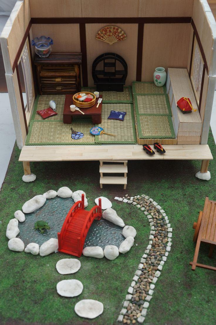 Japanese style miniature