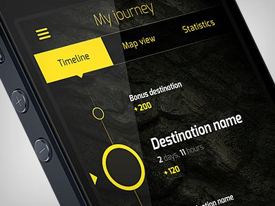 Maybe the convoy app.  lists other vehicles    WarChest App Study by Martin Schurdak via Dribbble