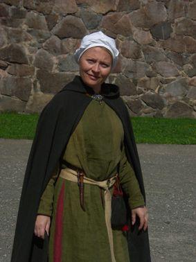 Hämeen keskiaikamarkkinat - Häme Medieval Faire 2007, Nainen - Woman, © Timo Martola