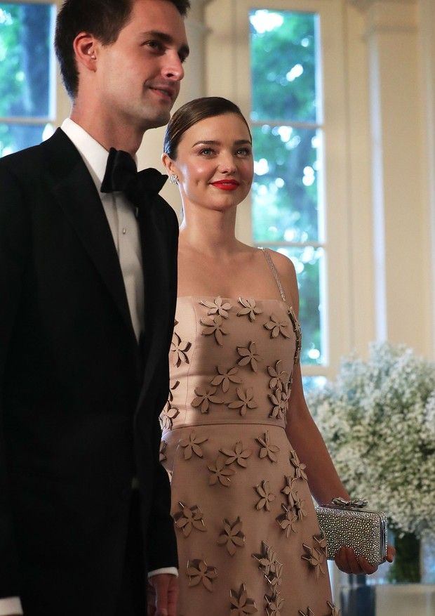 Evan Spiegel e Miranda Kerr (Foto: Getty Images)