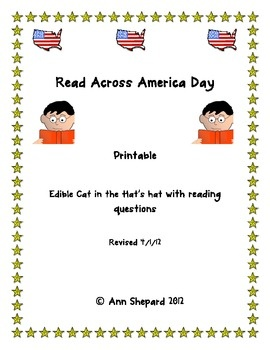 It is a photo of Delicate Read Across America Printable