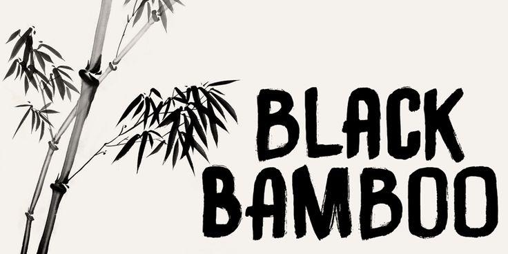 DK Black Bamboo Font | dafont.com