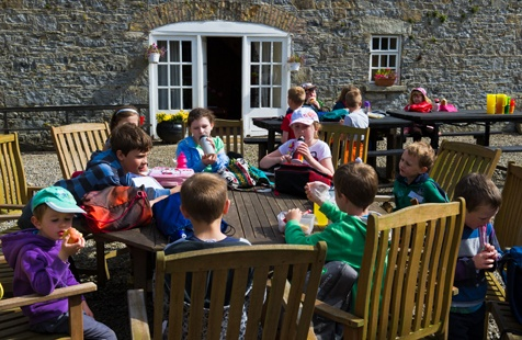 Bring a picnic and enjoy it in our Picnic Courtyard