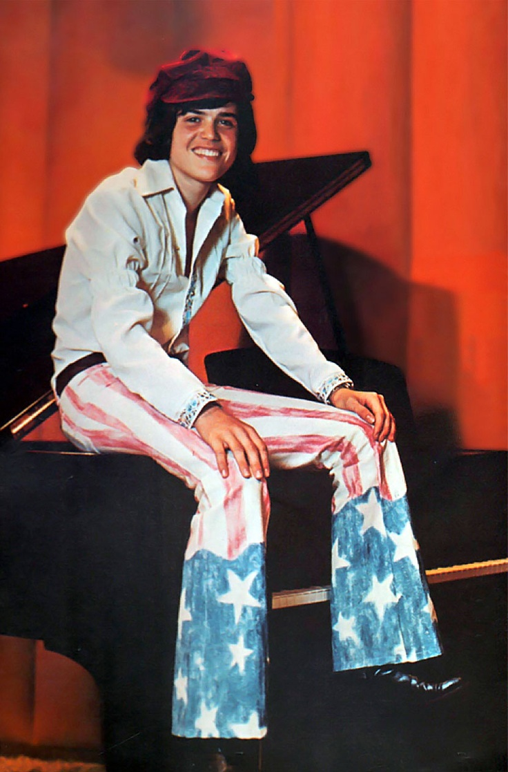 Donny Osmond Sweet & Innocent album...have it.  I was supposed to marry him, but my mom wouldn't move to Utah!