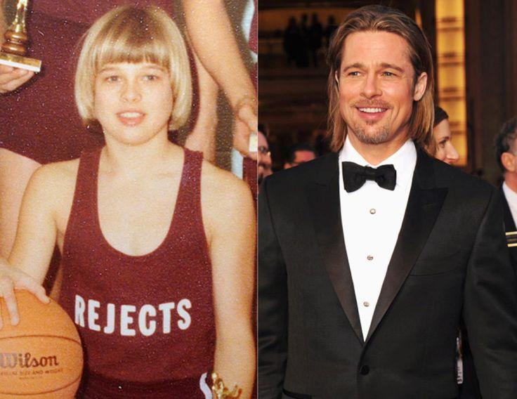 Brad Pitt - Photos - B... Brad Pitt Basketball
