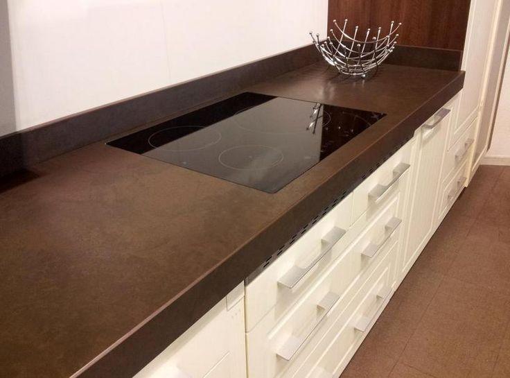111 mejores im genes sobre cocinas en pinterest vitrinas cocinas modernas y azulejos blancos - Dekton problemas ...