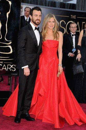 Justin Theroux y Jennifer Aniston - Parejas de famosos que nacieron en el set de rodaje