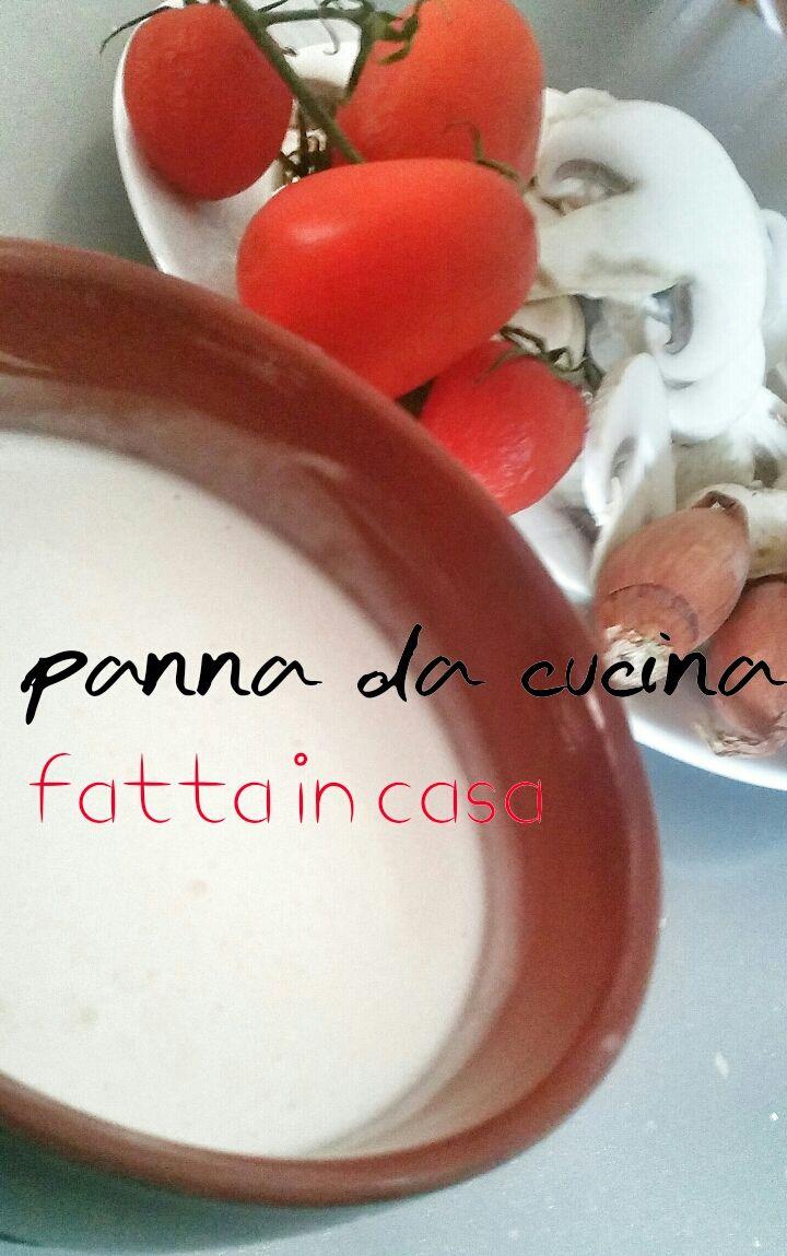 PANNA DA CUCINA FATTA IN CASA