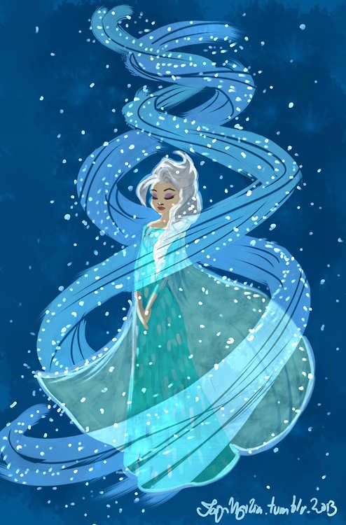 I may be slightly obsessed with Elsa