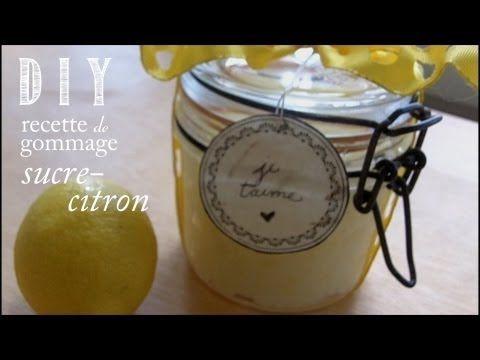 DIY: Recette Gommage Sucre-Citron - YouTube