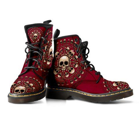 Skulls & Bones Colored Boots