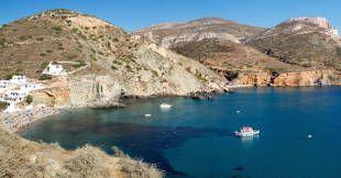 USPOLERET. Den græske ø Folegrandos er langt mindre besøgt end naboøen Santorini. - Foto: Filippo Bacci/iStockPhoto