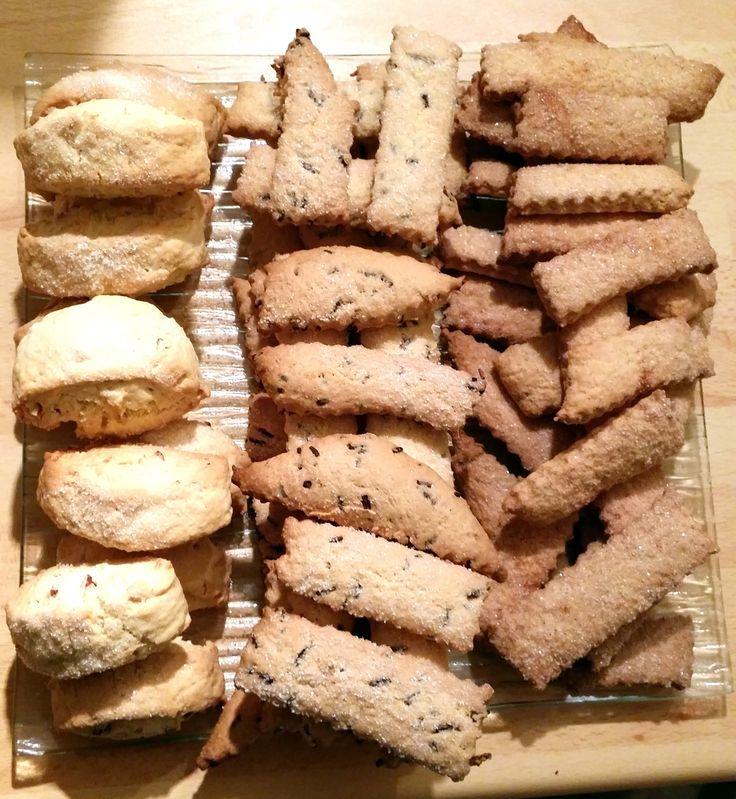 """Dur de trouver """"LA"""" recette de Canistrelli, mais j'ai reussi à en avoir une venant d'un petit village de Haute Corse que j'ai réadapté au thermomix. Ustensiles : - Thermomix - grille - tapis de silicone ou papier cuisson Ingrédients : - 500 gr de Farine..."""
