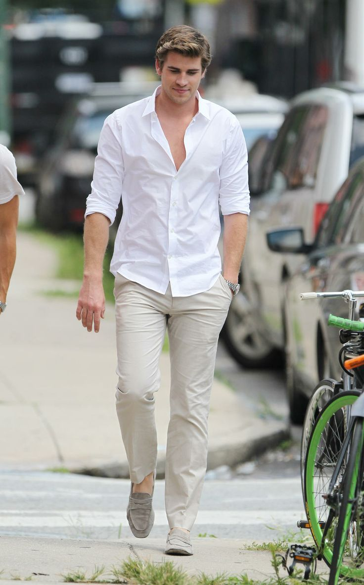 Best 25  White shirts for men ideas on Pinterest | Dress clothes ...