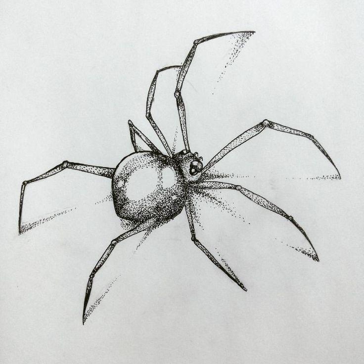 Картинки пауки карандаш спасают людей