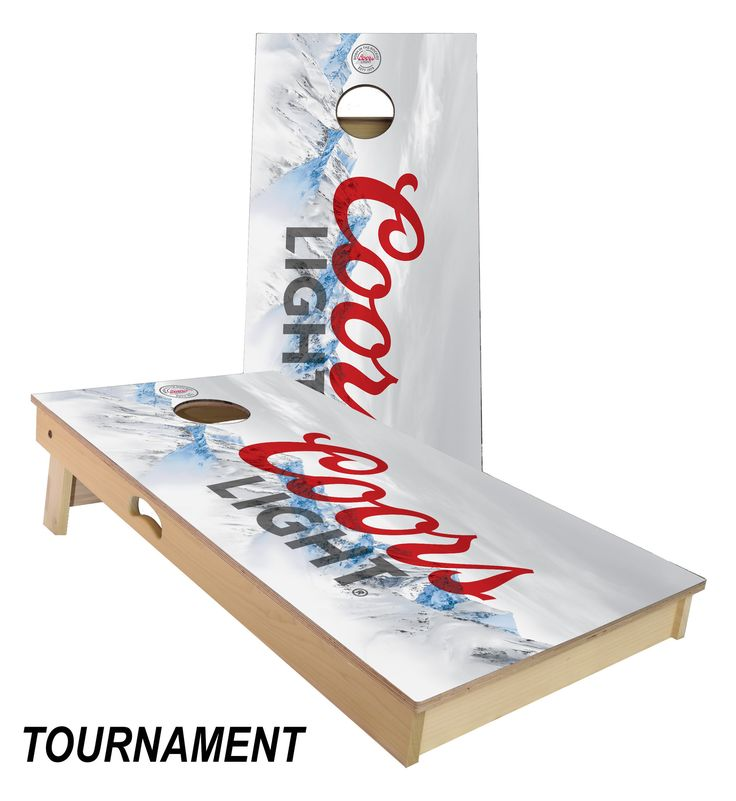 Coors Light Cornhole Board Set