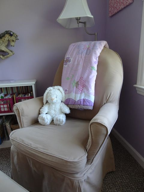 Just Because: Update on the Glider Slipcover