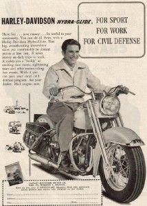 1950 Advert for Civil Defense Hydra-Glide