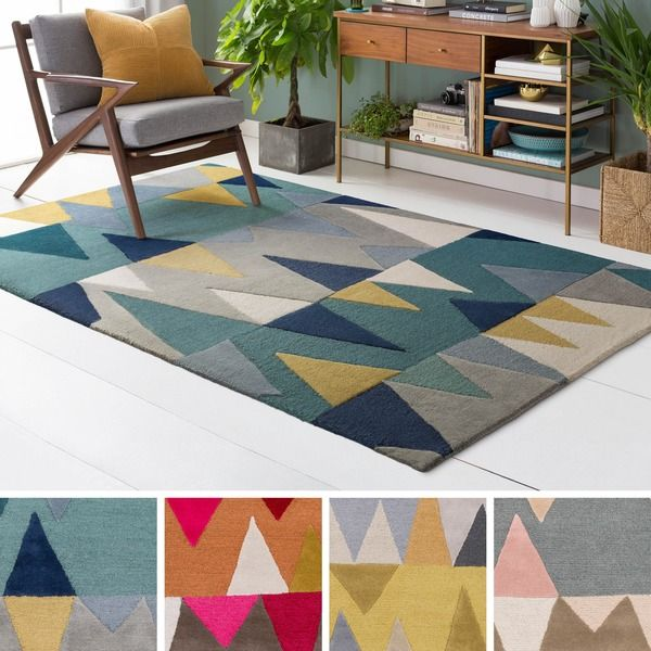 Hand-Tufted Country Wool Rug (8' x 10')