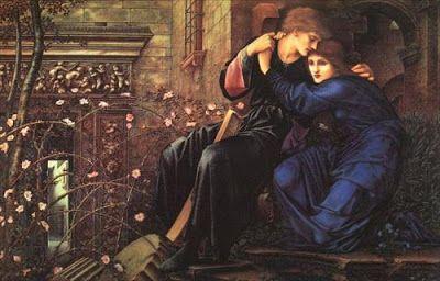 Burne Jones, Έρωτας στα ερείπια. 1894. Στο Γουίτγουικ Μέινορ, Γουελβερχάμπτον, στα Δυτικά Μίντλαντς της Αγγλίας (Wightwick Manor, Wolverhampton, West Midlands, The National Trust, United Kingdom).