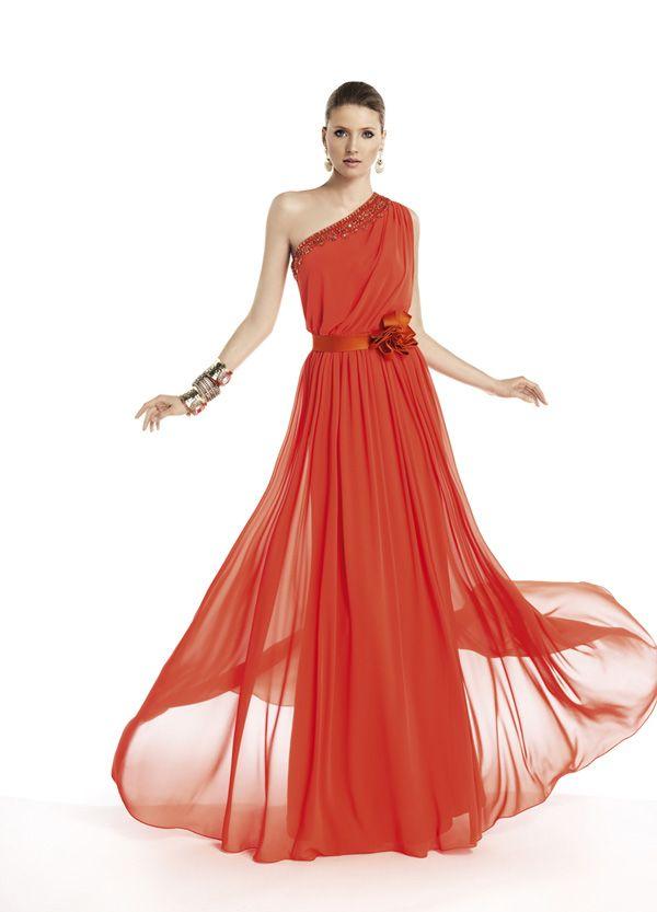Vestidos de fiesta de Pronovias 2014 #vestidos #invitadas #boda