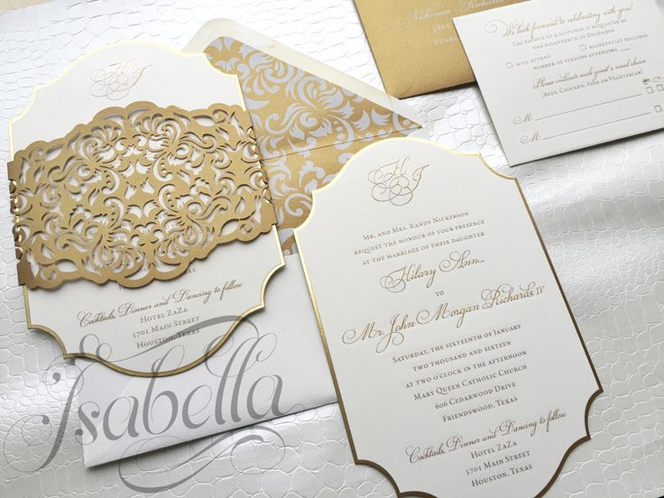476 Best Wedding Invitations Images On Pinterest Marriage