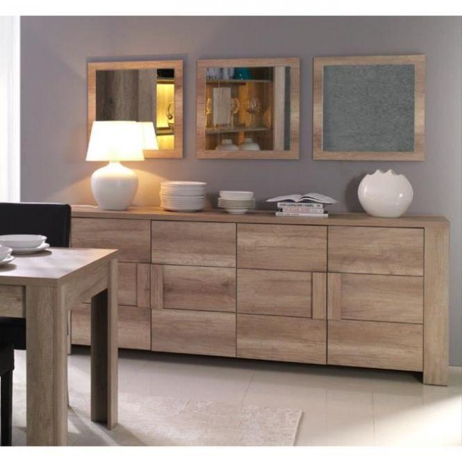 Buffet Bahut Enfilade Moyen Modele Ferrara 4 Portes Meuble Design Throughout Buffet Salle A Manger Home Decor Furniture Home
